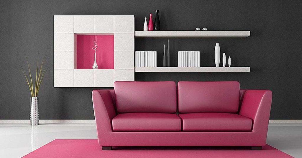 Choisir la bonne couleur derrière le canapé